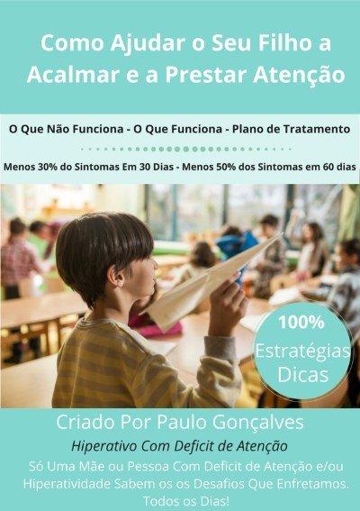 Livro Sobre Deficit Atenção Hiperatividade e TDAH